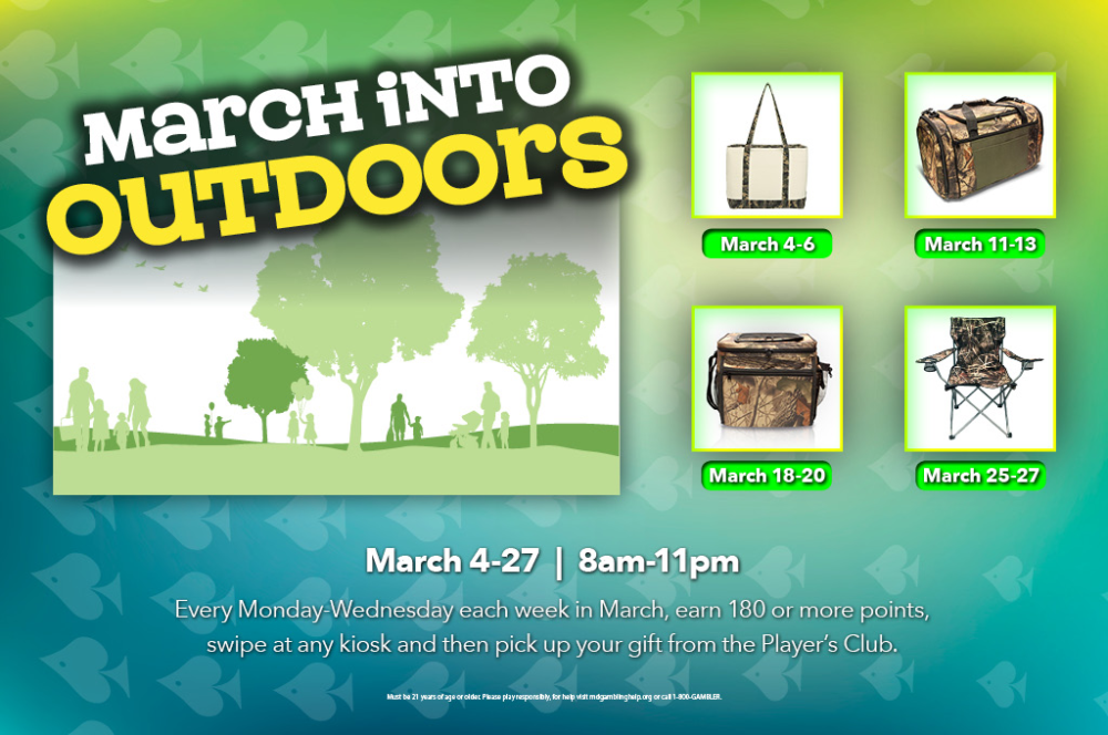 March into Outdoors
