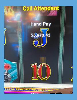 Ocean Downs Casino Jackpot Winner